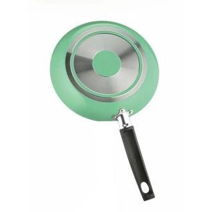 Frigideira com Espátula 20 cm em Alumínio Verde - Multifon