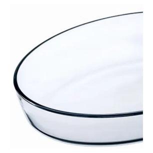 Assadeira Refratária em Vidro Oval 3,2 L Transparente