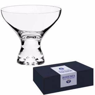 Jogo 6 Taças Sobremesa Vega Bohemia 330ml Incolor - Rojemac
