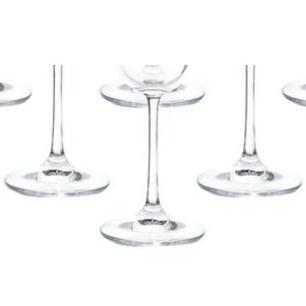 Jogo De Taças De Vinho Tinto Bell Platinum 6 Peças 170ml