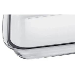 Assadeira Refratária em Vidro Retangular 1,6 L Transparente