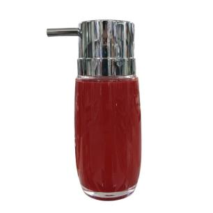 Porta Sabonete de Acrílico Bold Vermelho 210ml – Brinox