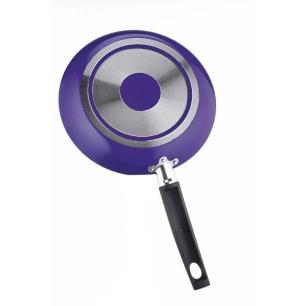 Frigideira com Espátula 20 cm em Alumínio Roxa - Multifon