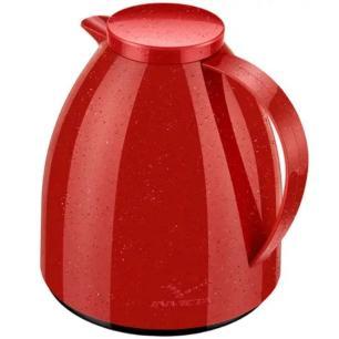 Bule Térmico Viena Baby Ceramic Vermelho 400ml - Invicta