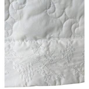 Colcha Queen Lit Blanc 3 pçs Branca 100% Algodão – ALTENBURG