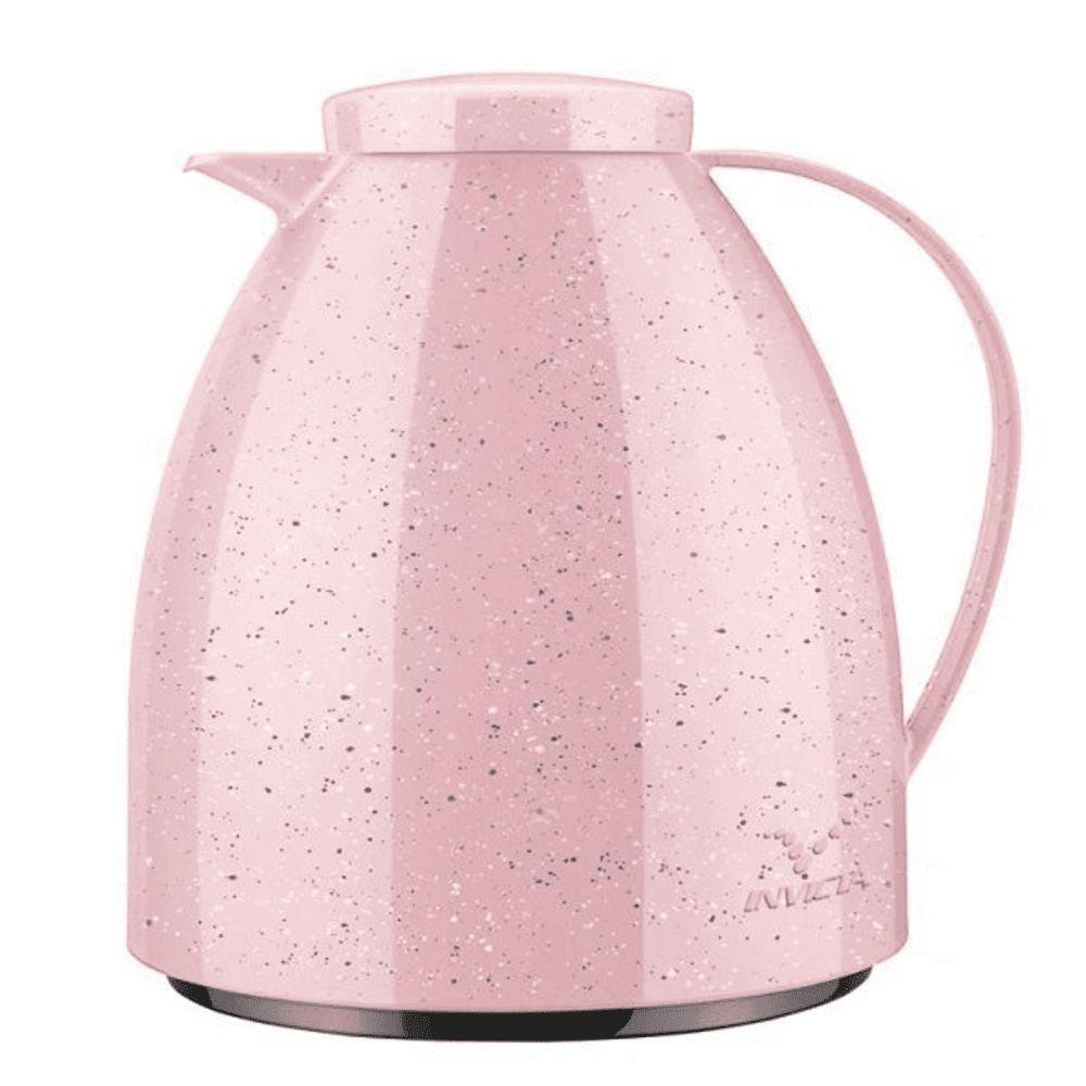 Bule Térmico Viena Baby Ceramic Rosa 400ml - Invicta