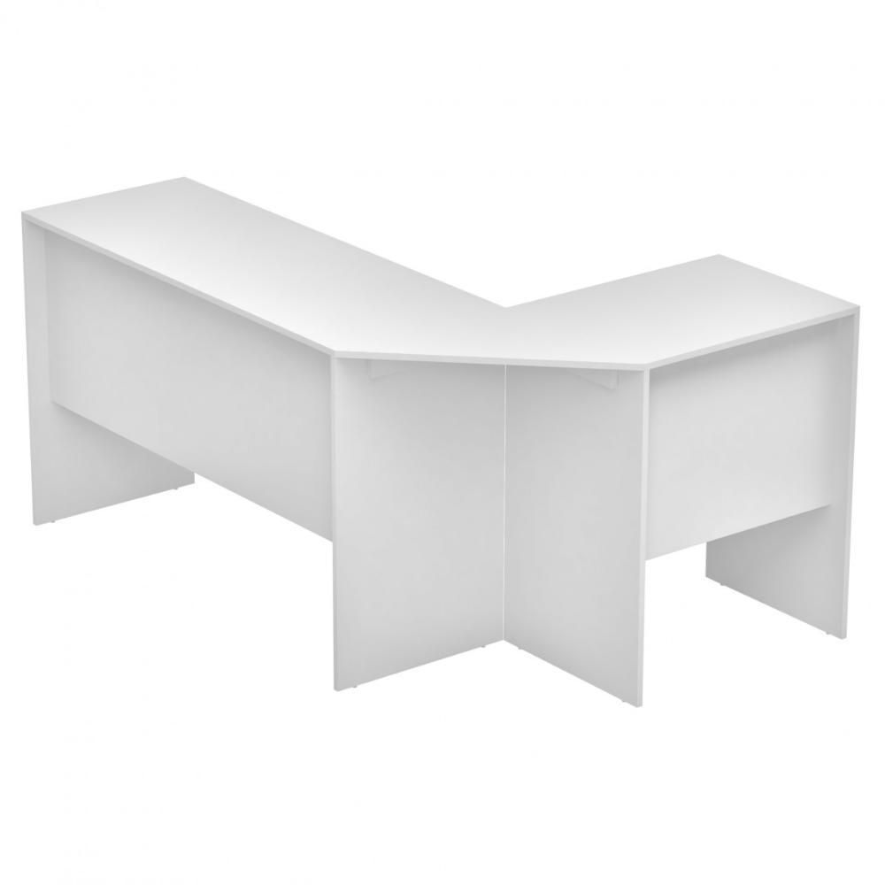 Mesa de Computador de Canto BHO 08 Branco - BRV Móveis