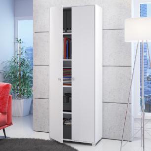 Armário Office BAM 02 branco 02 portas-BRV