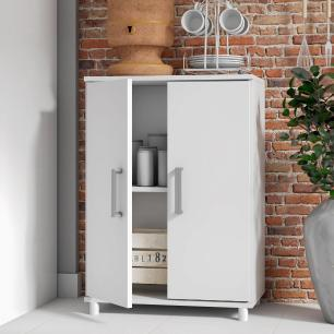 Balcão de cozinha BMU 105 branco 02 portas-BRV