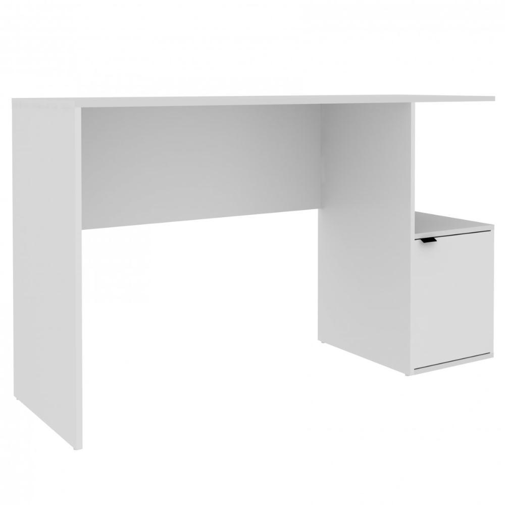 Mesa de Computador BC 75 Branco 01 Porta - BRV Móveis