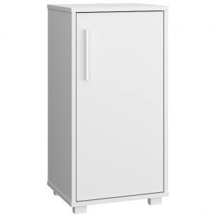Balcão Multiuso BMU 38 Branco 01 Porta - BRV Móveis
