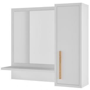 Espelheira p/ banheiro BBN 07  01 prateleira-BRV