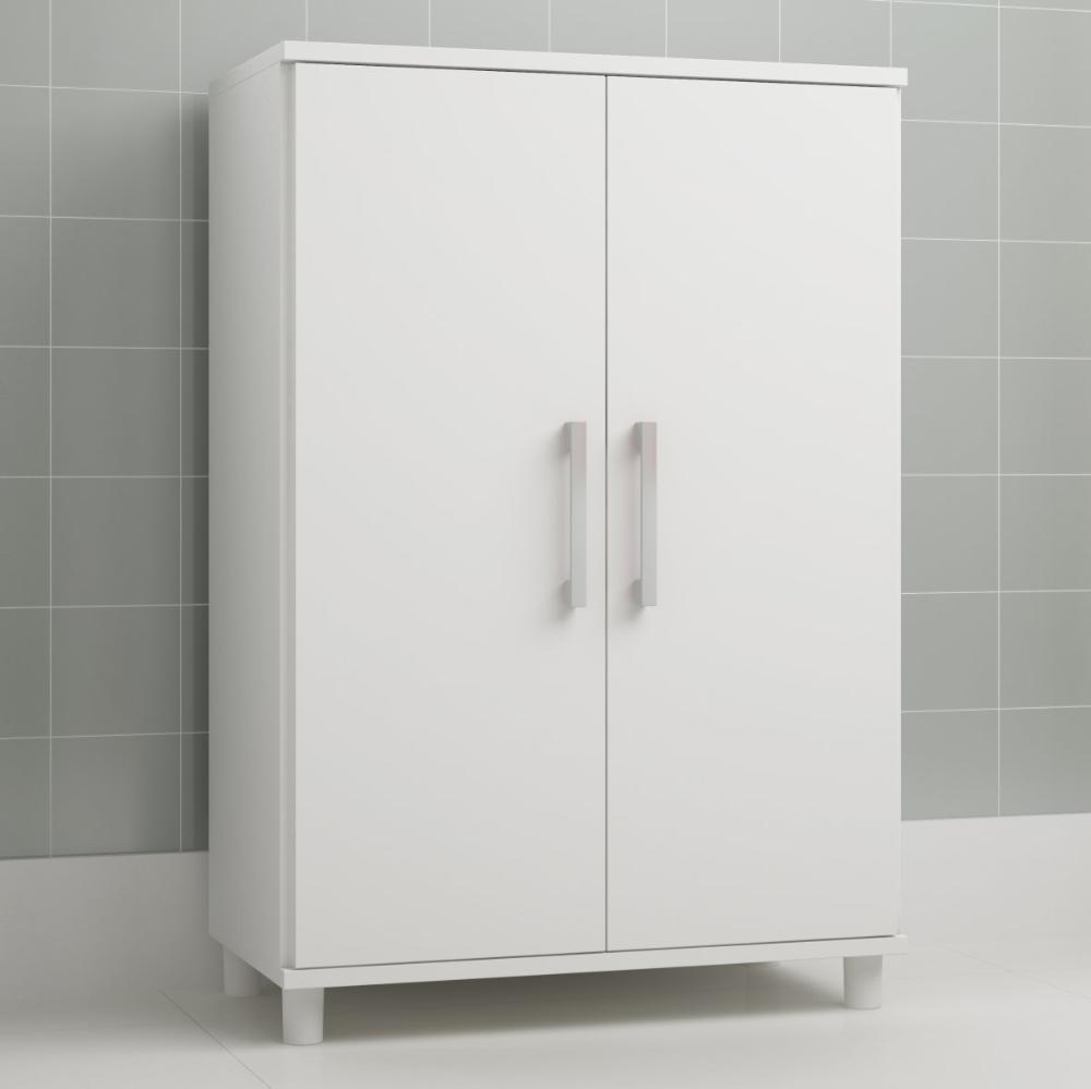 Balcão Serviço BS 05 Branco 02 Portas - BRV Móveis