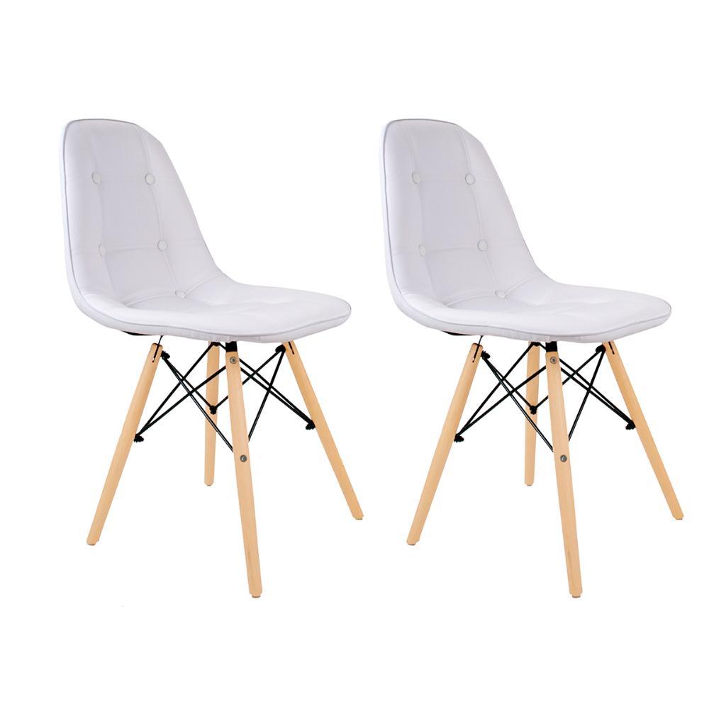 Conjunto com 2 Cadeiras Eames Botonê