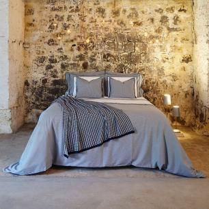 Capa para Duvet Urban Blue Vichy Super King Muguet Home