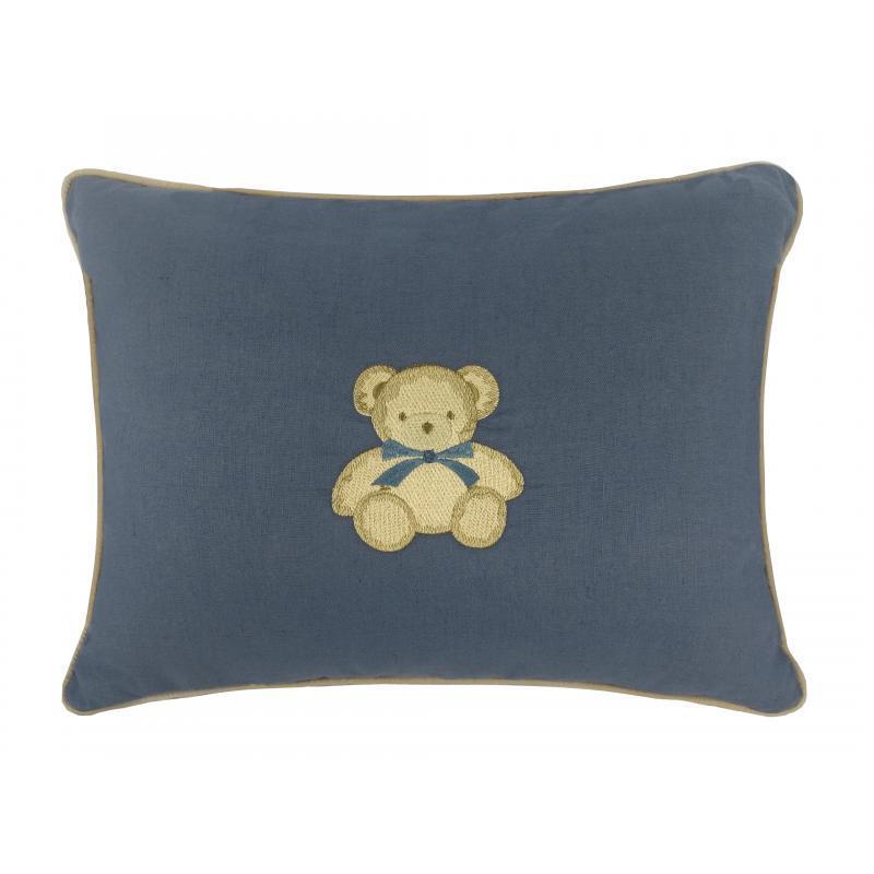 Almofada Le Petit Azul Bordado Urso 40x50 Muguet Home