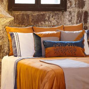 Almofada Color Connection Linho com Franjas 50x50 Muguet Home
