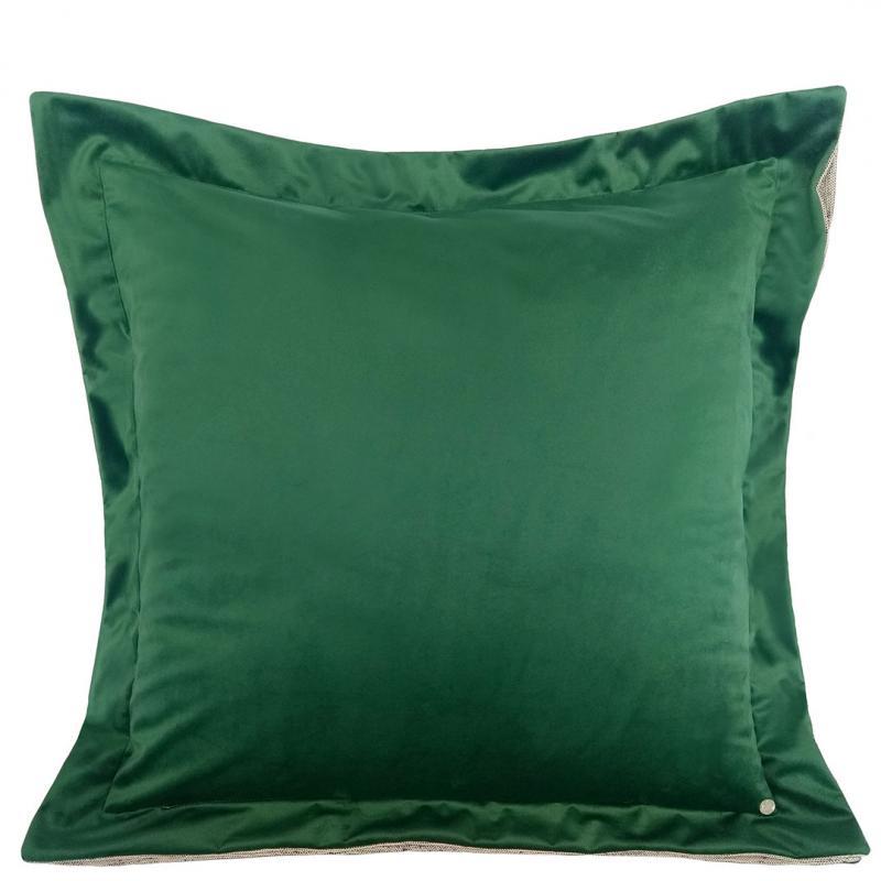 Almofada Cardo Veludo Verde 60x60  Muguet Home