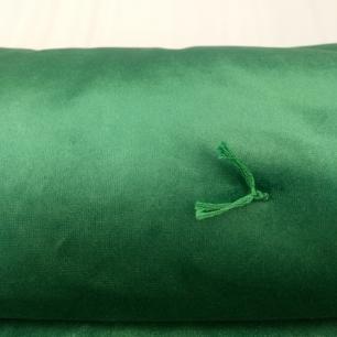 Colcha de Veludo Verde King Muguet Home