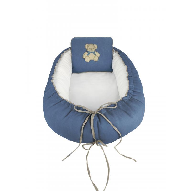 Ninho Reduto Le Petit Linho Azul   Muguet Home