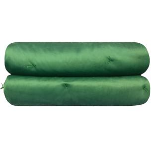 Colcha de Veludo Verde Casal Muguet Home