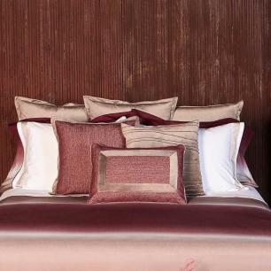 Almofada Essence Tweed Bordô com Veludo Fendi 40x60 Muguet Home