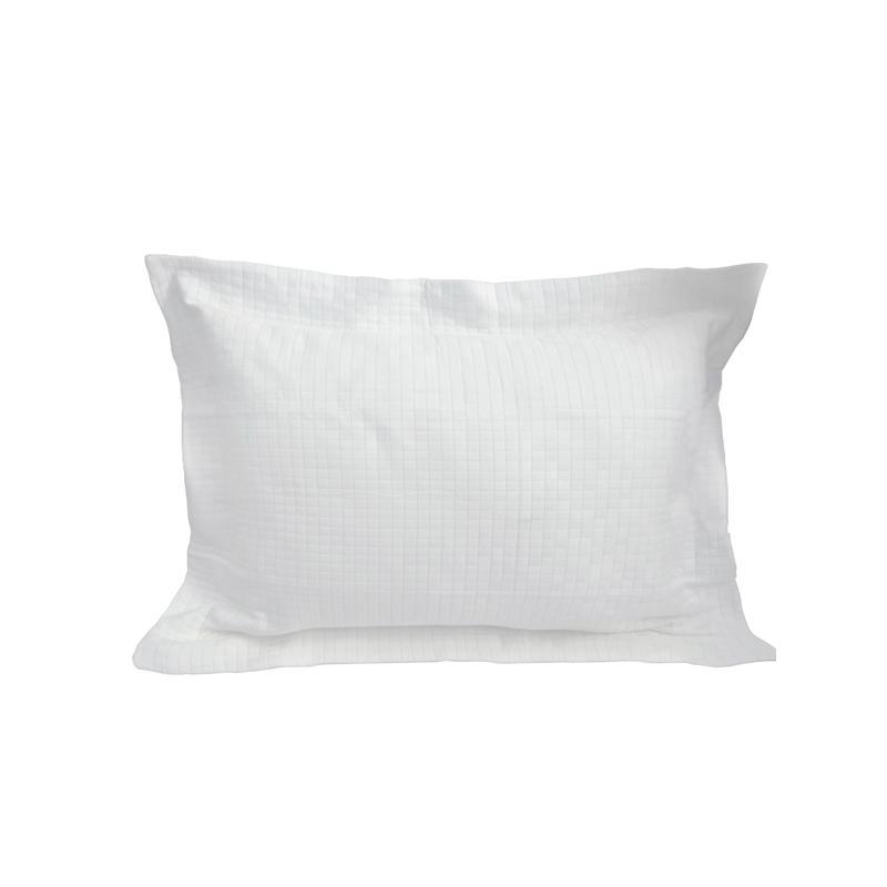 Porta Travesseiro Royale Branco 50x70 Muguet Home