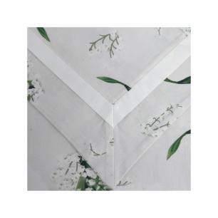 Fronha Avulsa Bonheur du Muguet Branco 50x70 Muguet Home