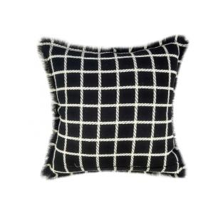 Almofada Royal Lã Xadrez 50x50