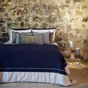 Capa para Duvet Urban Blue Azul Marinho Solteiro Muguet Home