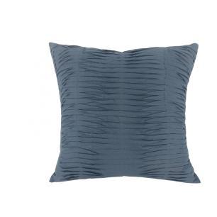 Almofada L'acqua Linho Azul Pregas 50x50 Muguet Home