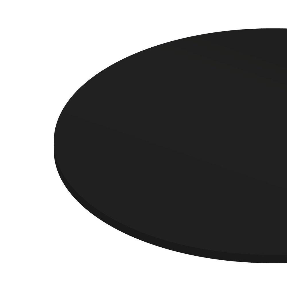 Prato giratório para servir na mesa 80 cm - Preto