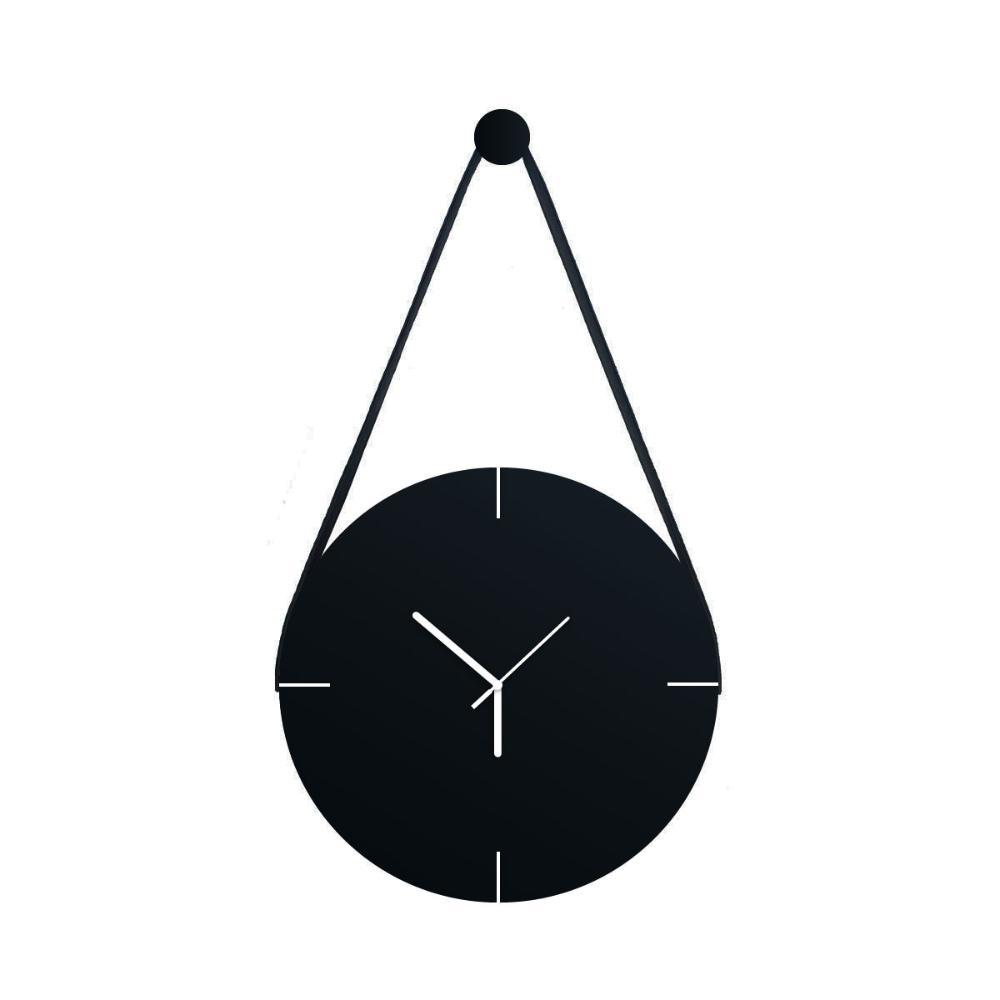 Relógio Adnet com alça de Courino