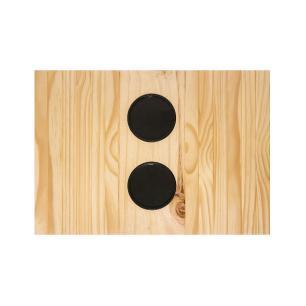 Bandeja de Sofá com Porta copos Pinus