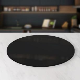 Prato giratório para servir na mesa de jantar laqueado 90 cm