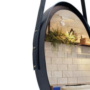 Espelho Adnet com alça e Pendurador