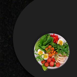 Prato giratório para servir na mesa de jantar laqueado 60 cm