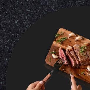 Prato giratório para servir na mesa de jantar laqueado 80 cm