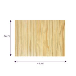 Bandeja Esteira de Sofá Pinus