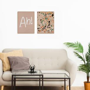 Quadros Decorativos para Sala Kit com 2 - 30x40