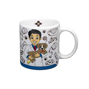 Caneca personalizada veterinário - Cerâmica Regina