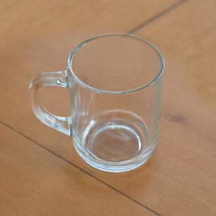 Caneca para café ou chá 266mls em vidro extra resistente