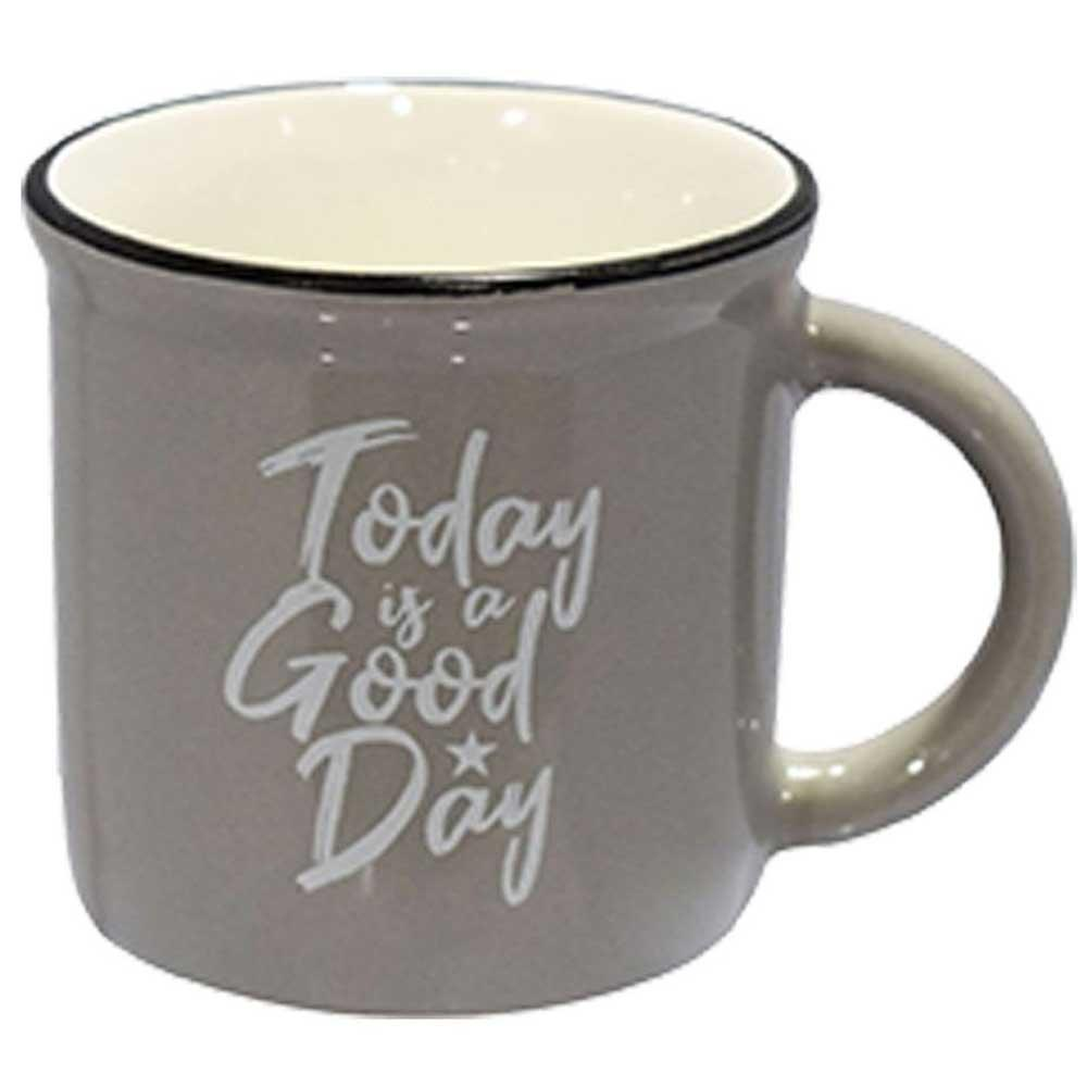 Caneca decorada cerâmica 60mls Today is a Good Day