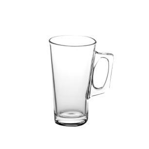 Caneca café cappuccino 370mls de vidro com alça importada