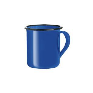 Caneca esmaltada azul 150 ml