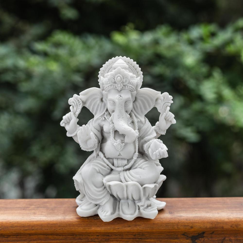 Ganesha na Flor de Lótus