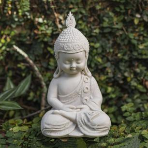 Monge da Meditação em Marmorite