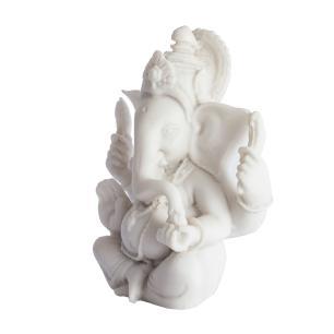 Ganesha Médio em Marmorite
