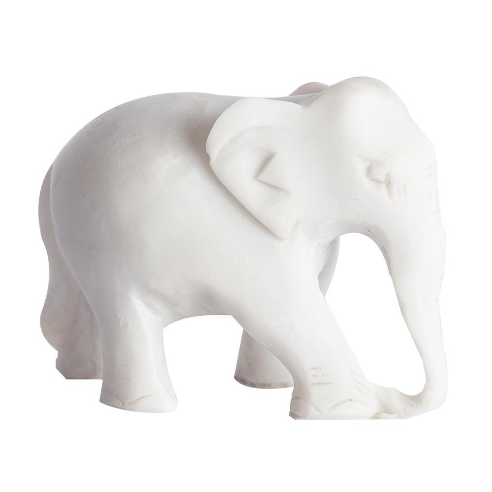 Elefante Pequeno em Marmorite