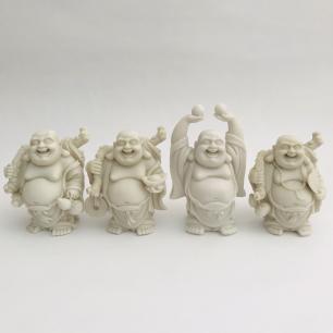 Buda Gordo da Riqueza Médio